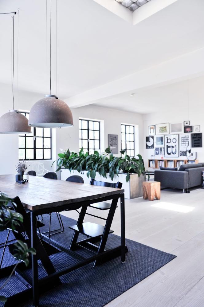 loft in Copenaghen - living room