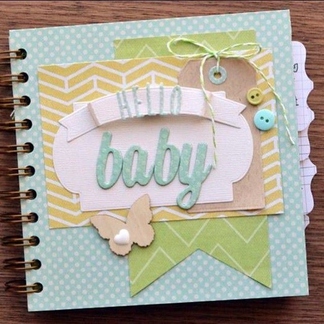 Baby week cinch baby book minis album and baby album idea for mini album baby scrapbookdiy scrapbook album coverbaby solutioingenieria Choice Image