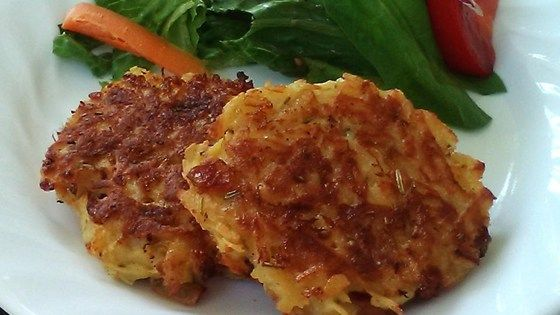 Simple Parsnip Pancakes