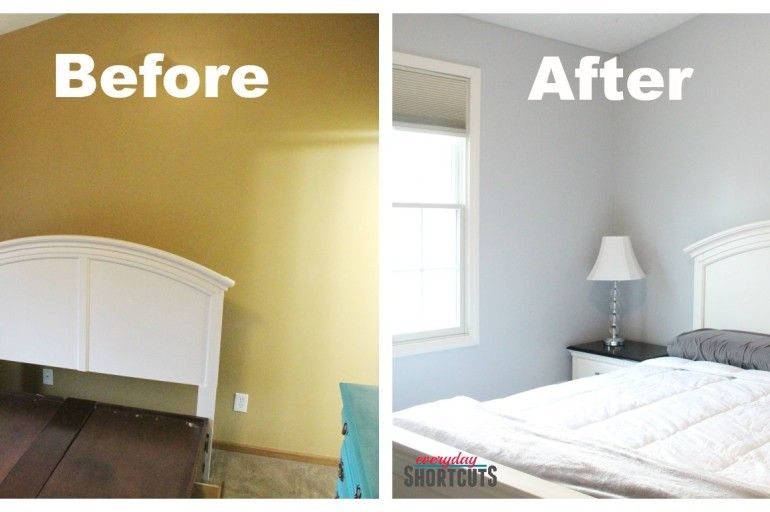 Master Bedroom Makeover With HGTV Home By Sherwin Williams Paint
