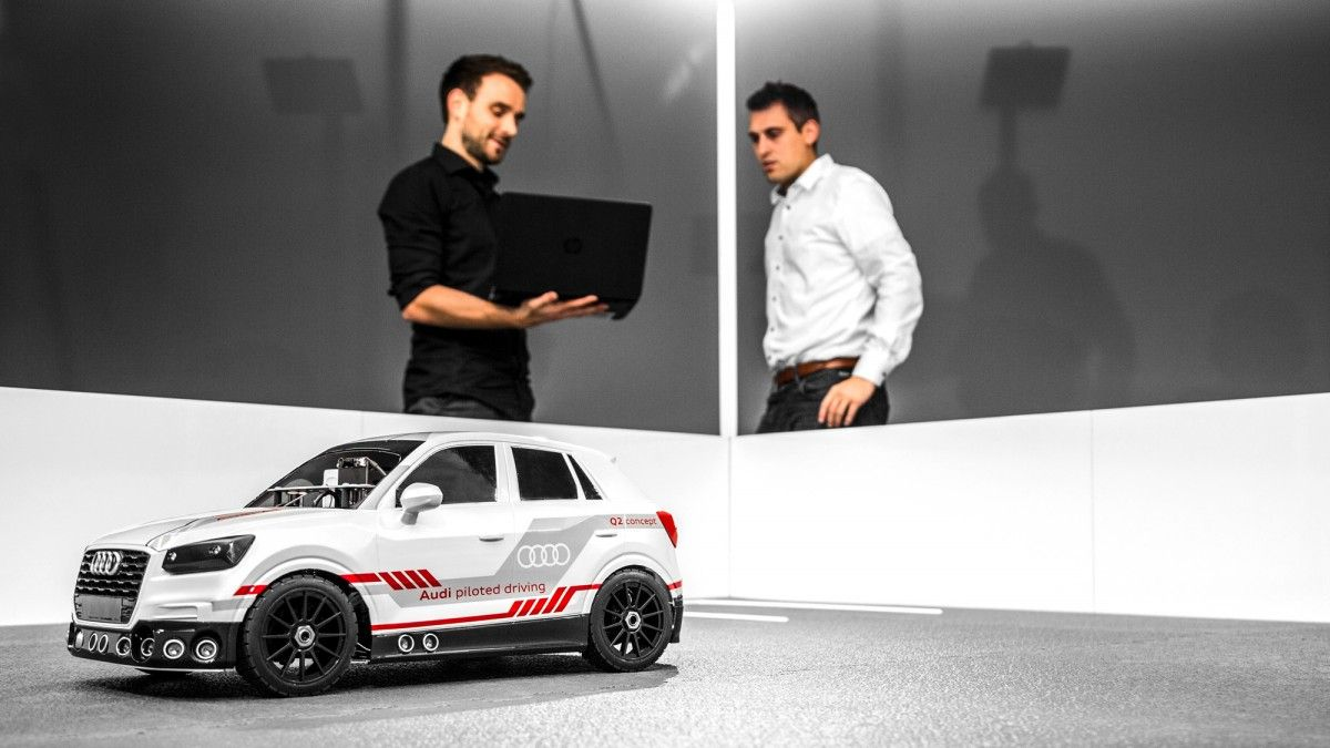 Audi's New AI Rig for Driverless Cars Is … a Toy Car