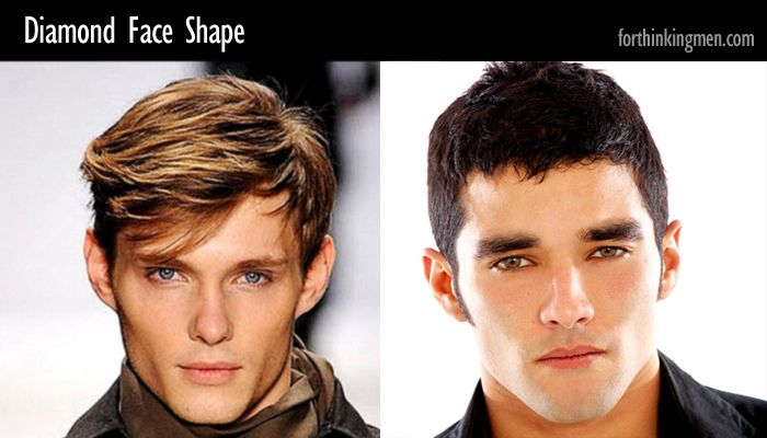 Hairstyles For Men Diamond Face Shape Haircut Ideas Diamond Face Shape Face Shapes Diamond Face
