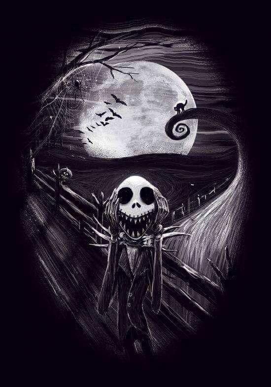 The Scream Meets Nightmare Before Christmas