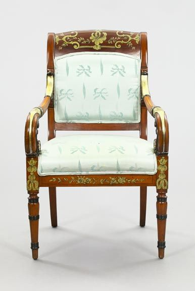 Russian Neoclical Style Mahogany Armchair In 2019