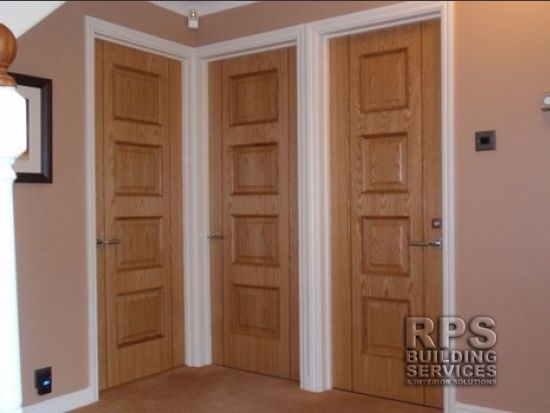 Oak Doors With White Trims Trim Floors House