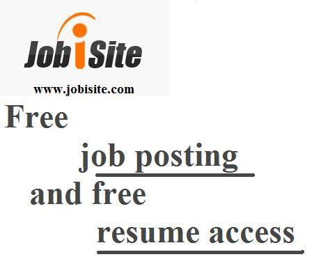 free job posting banners Pinterest Free job posting and Free - free job resume