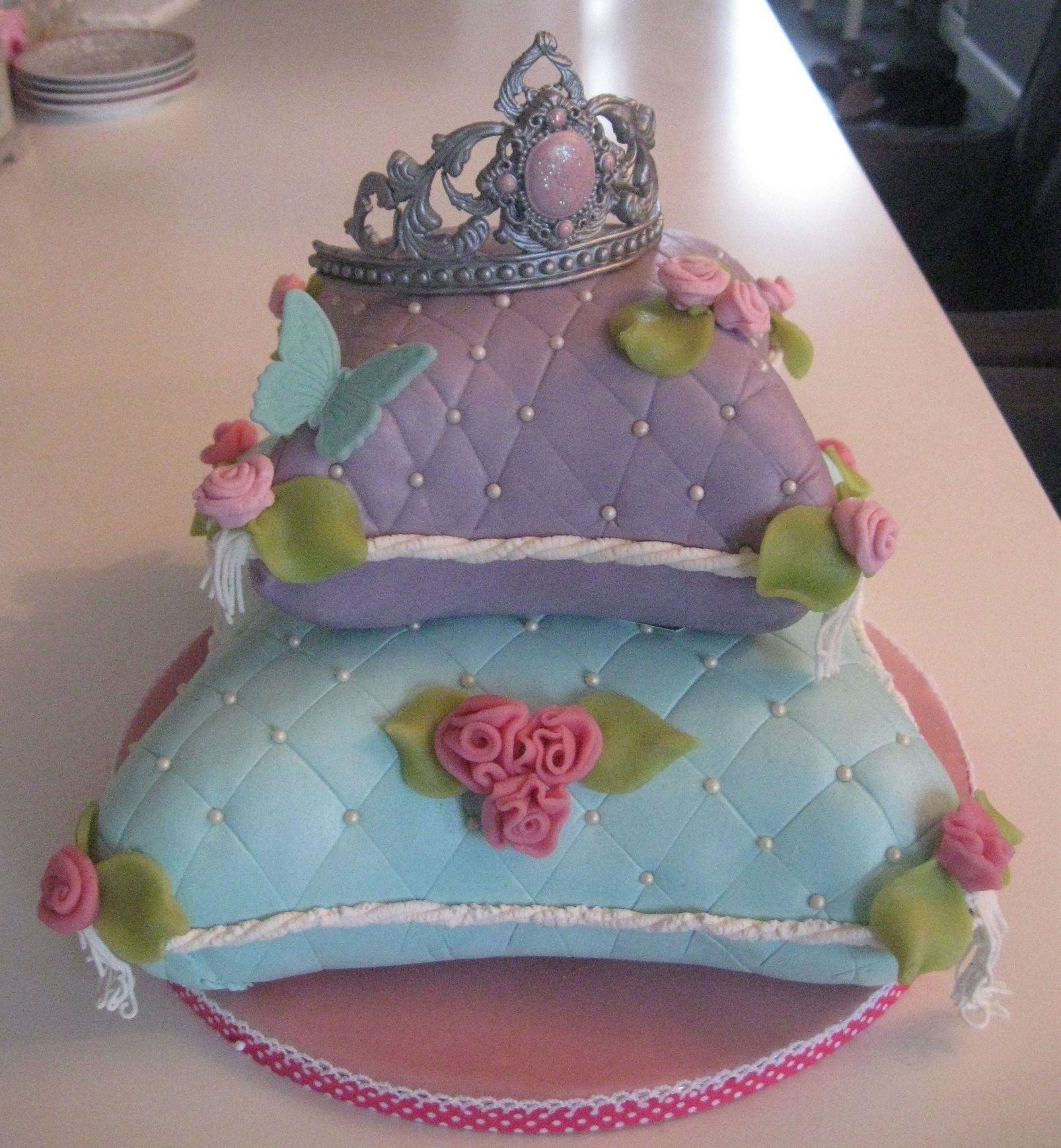 kussen taart te bestellen via