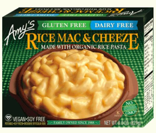 Amys Rice Mac And Cheese Dairy Free Dairy Free Mac And Cheese Gluten Free Rice