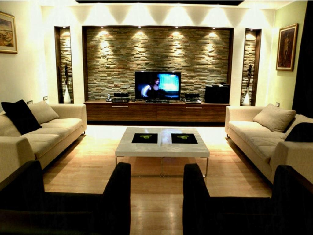 Modern T V Lounge Decoration Ideas Interior Design