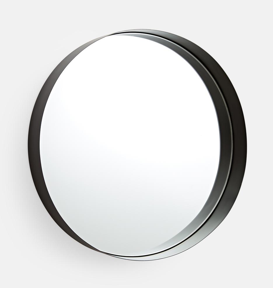Pin On Master Bath Oil rubbed bronze round mirror