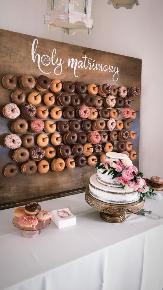 4 Tipps zum Gestalten eines Hochzeitsdesserttisches und 25 Ideen #DessertTable #WeddingDess – Harmony