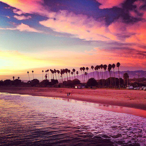 Santa Barbara, Ca #santabarbara #montecito #visitsantabarbara #california #sunset #ocean #beach