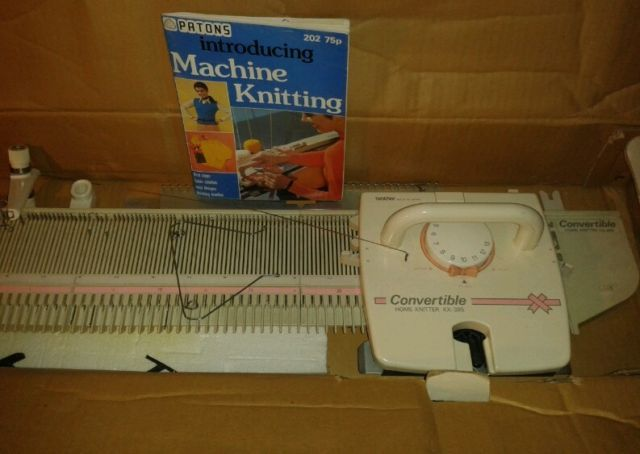 Details about Brother Knitting Machine KX 395 Convertible ...
