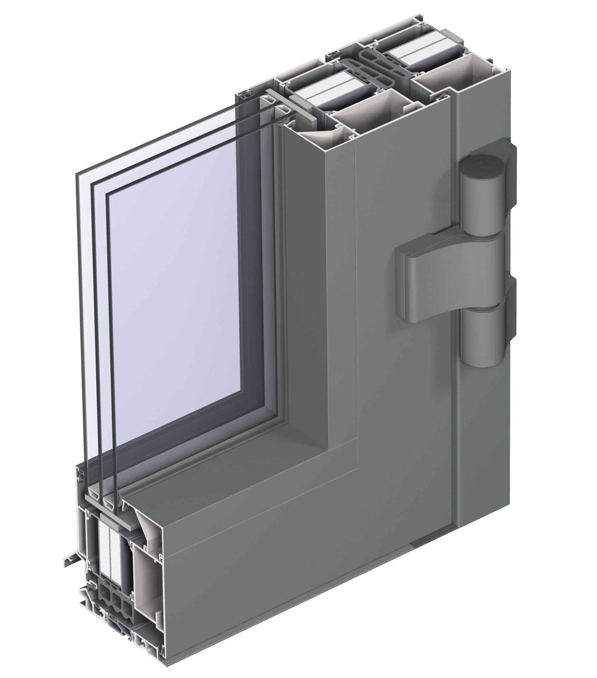 With The CS 104 Window And Door System, Reynaers Achieves Unparalleled  Insulation Values For Aluminium