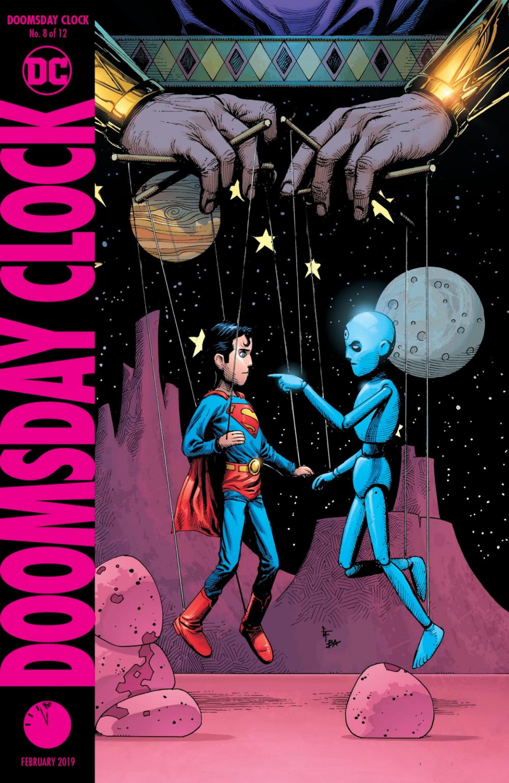 Doomsday Clock Issue 8 Read Doomsday Clock Issue 8 Comic
