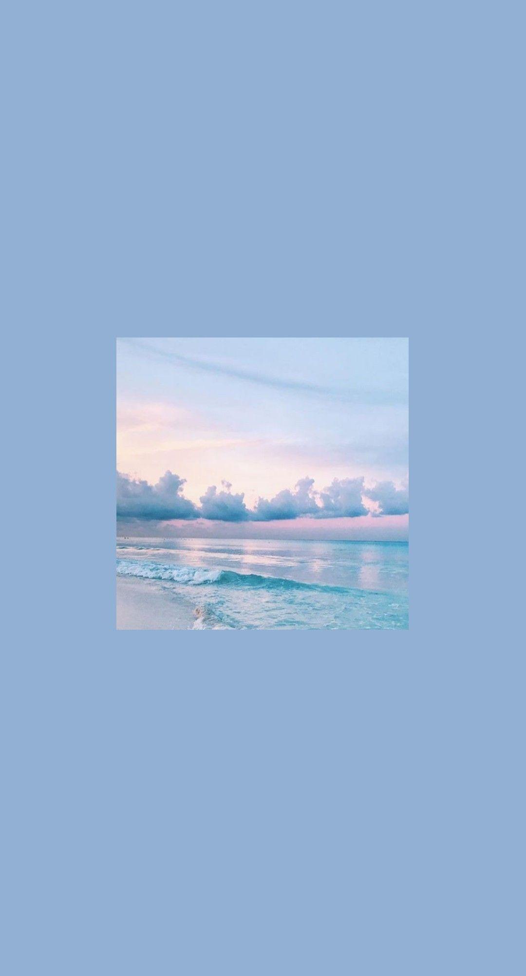 Lila Himmel Asthetische Tapeten Bluewallpaper