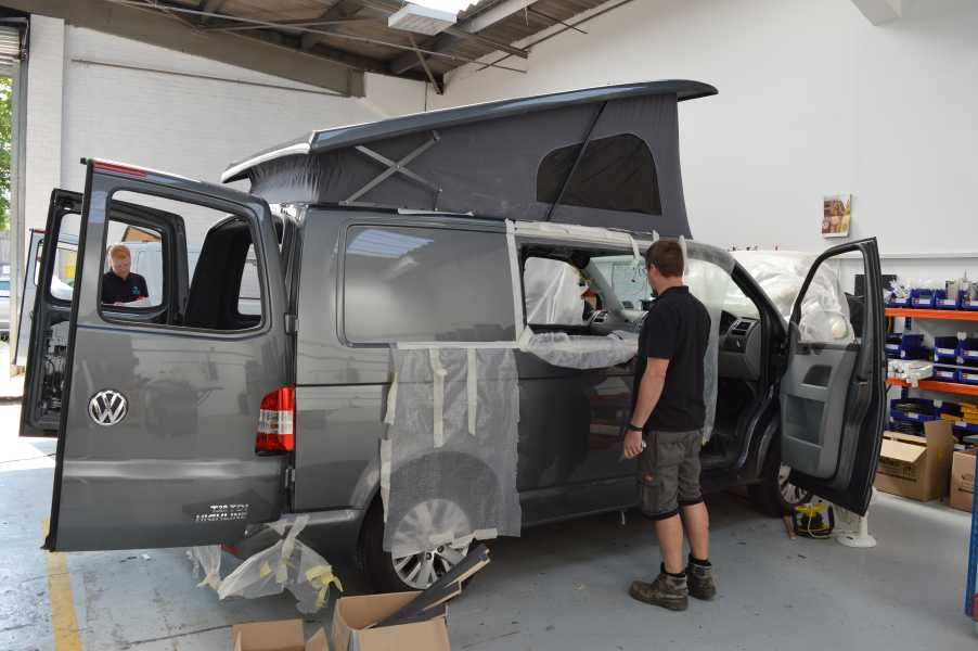 Preparing The Windows In Your VW T5 Camper Conversion