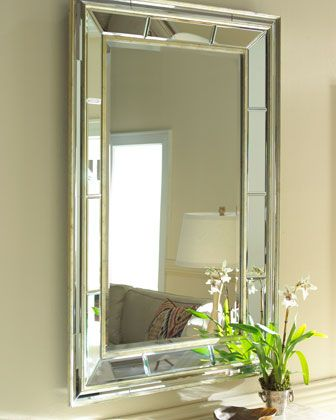 Double Bevel Mirror At Horchow Yessss I Think Want It To