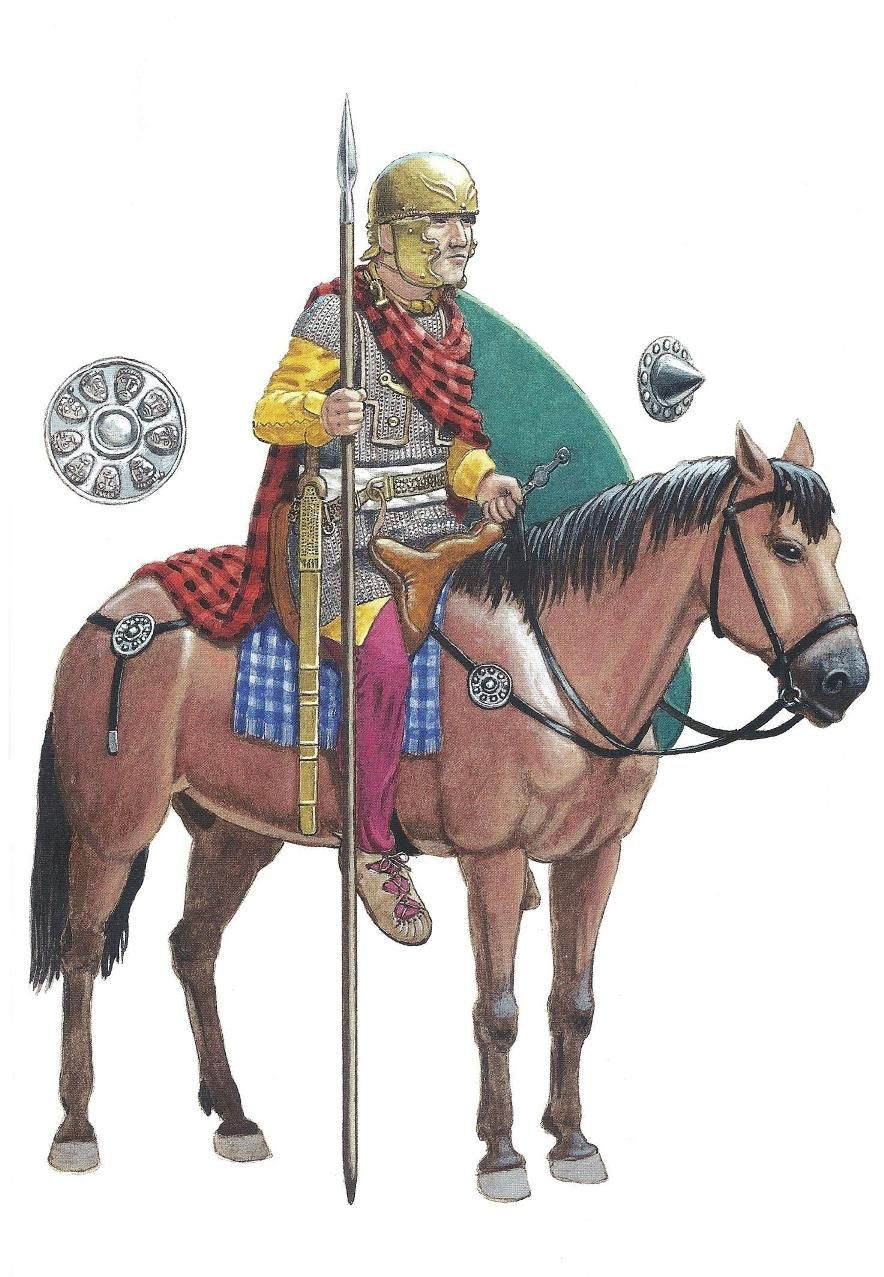 Vsadnik Gallskoj Vspomogatelnoj Kavalerii Roman History Ancient Warfare Ancient Warriors