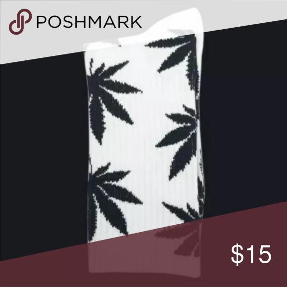 Weed Print Socks 1 pair
