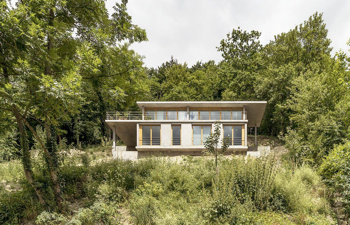 GIAN SALIS ARCHITEKT – WOHNHAUS AM HANG | Casas y Cabañas ...