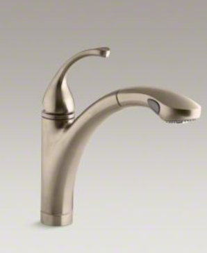 Forté®Single Hole Or 3 Hole Kitchen Sink Faucet With 10 1