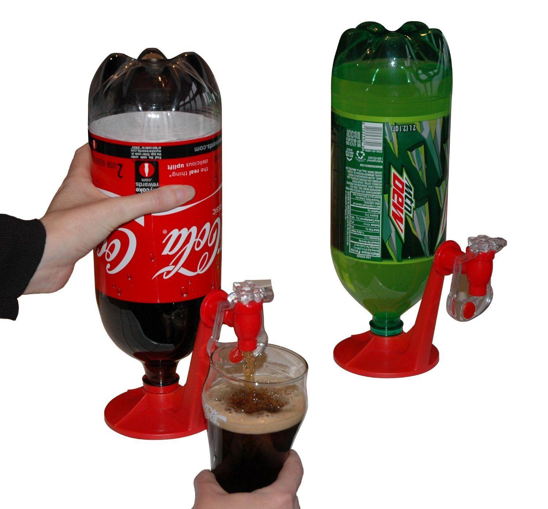 Amazon Com Fizz Saver Refrigerator 2 Liter Soft Drink Dispenser Kitchen Dining Beste Kuchenhelfer Getranke Spender Kuchen Helfer