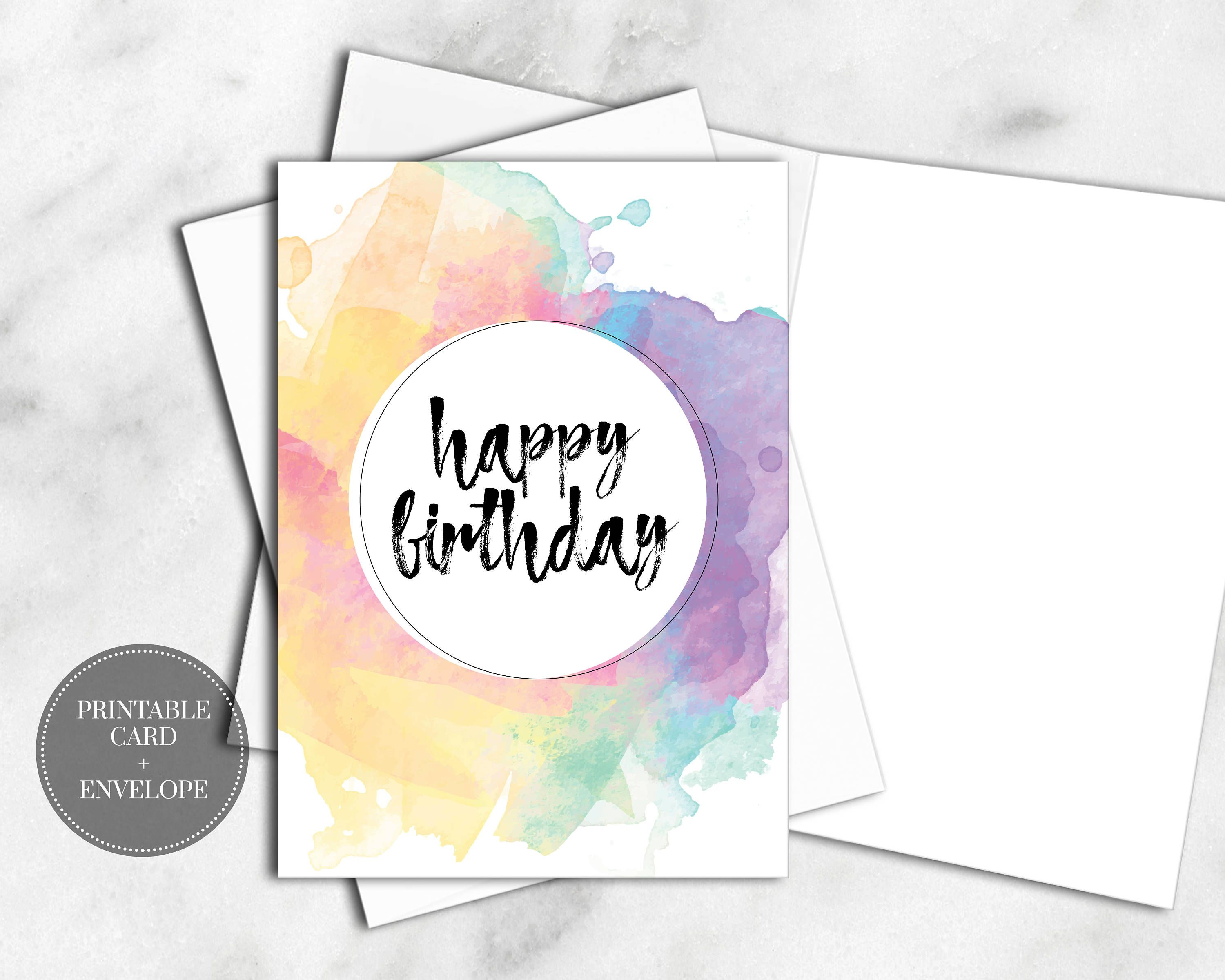 image regarding Printable Birthday Cards for Sister called Pin by means of Meghan Burton upon Printable Greeting Playing cards Birthday