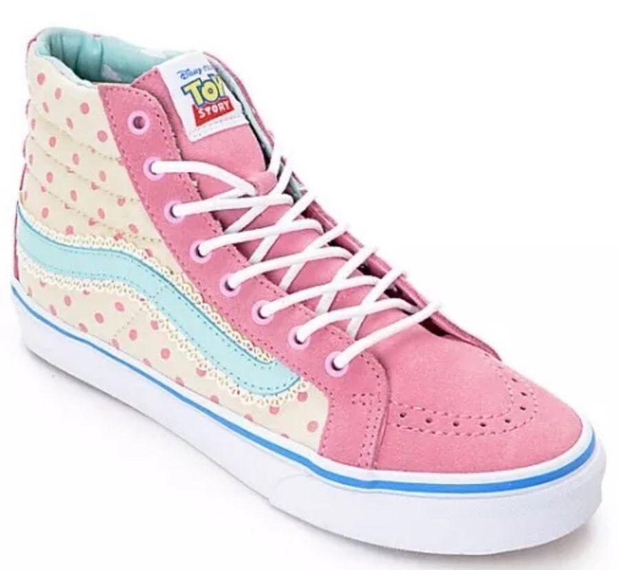 Vans Toy Story Sk8 Hi Slim Bo Peep Shoes Size Men 039 s 7 0 Women 039 s 8 5 | eBay