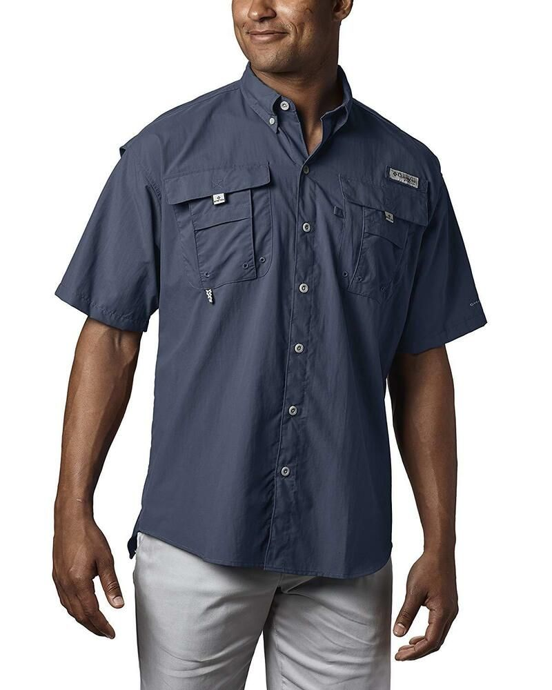 99eb5d65 Columbia Men's PFG Bahama II Short Sleeve Breathable Fishing Shirt 2XLT  Blue #fashion #clothing #shoes #accessories #mensclothing #shirts (ebay  link)