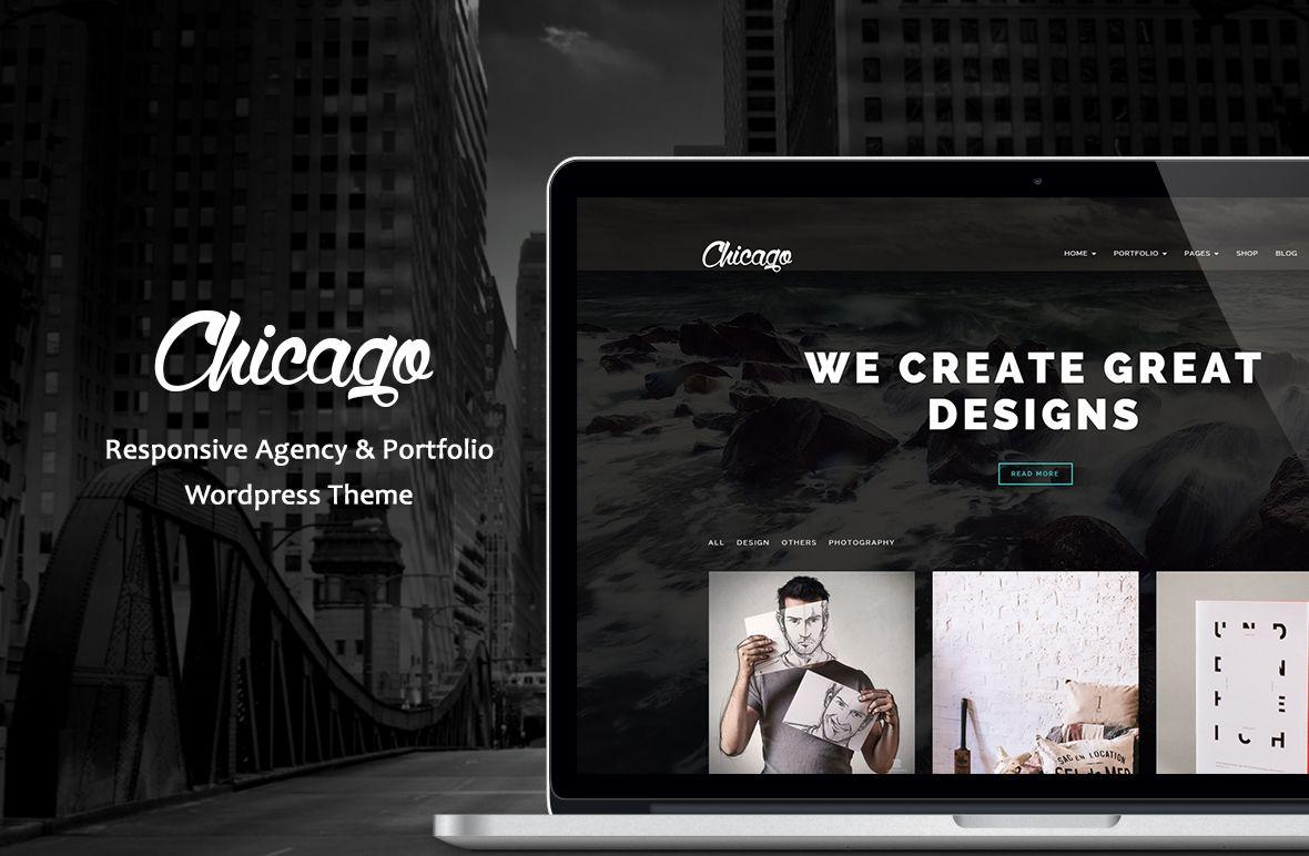 Chicago Agency&Portfolio Wordpress theme portfolio