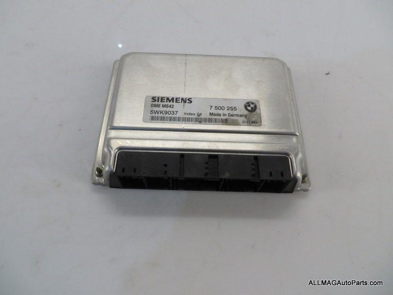 1999-2001 BMW 3 5 Z Series Engine Control Unit DME 34 12147500255 MS42 E46