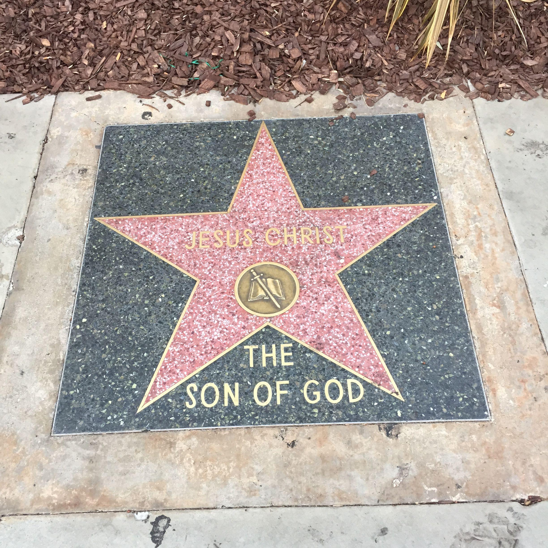 Pin By Mk Gordon On Los Angeles Hollywood Walk Of Fame Hollywood Walk Of Fame Star Son Of God