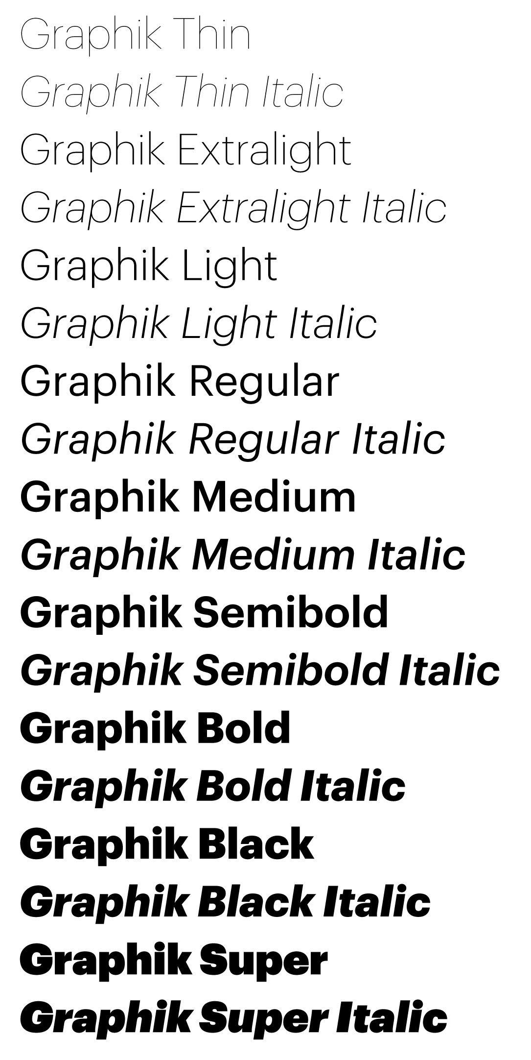 Graphik font | [GD] Font | Typeface font, Typographic design