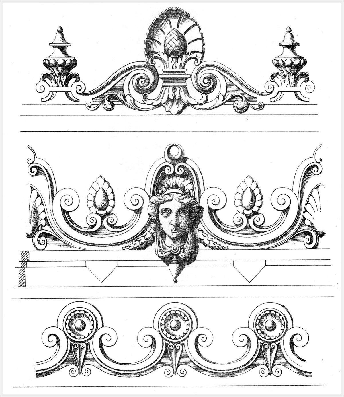 лучших векторные рисунки для обработки по средней линии после кармелиты