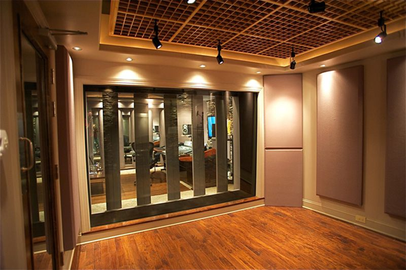 Custom Designed Studio: Red Decibel East