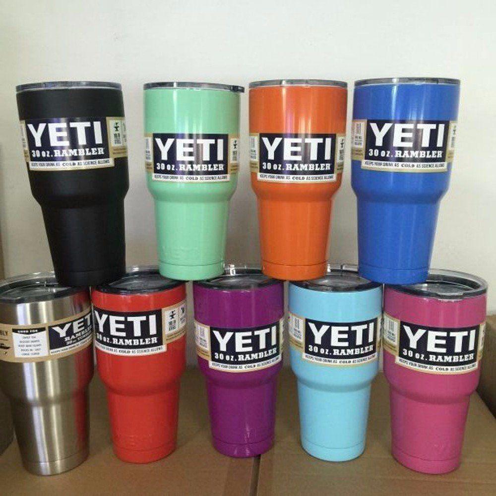 30 oz Yeti Cups Cooler YETI Rambler Tumbler Cup   Yeti cup ...