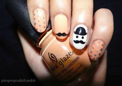 A Movember manicure!