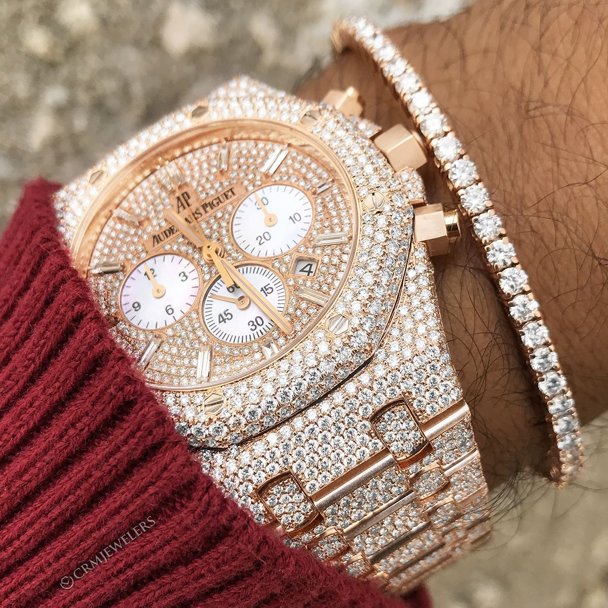 """""""You Know Frank Kept Me Iced Out."""" Flawless Iced Out AP"""