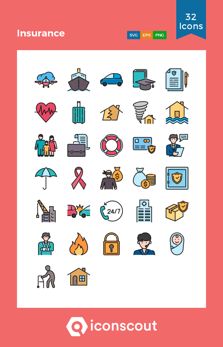 Download Insurance Icon Pack Available In Svg Png Eps Ai Icon Fonts Icon Pack Icon Icon Font