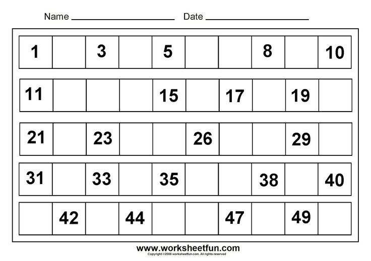 Worksheet #604780: Math Worksheets for Kindergarten – Free ...