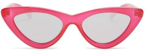 806ce2914665 Le Specs - The Last Lolita Cat Eye Sunglasses - Womens - Red ...