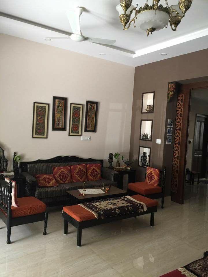 Pinvidya Govindarajan On Indian Decor  Pinterest  Interiors Glamorous Living Room Designs Indian Homes Inspiration