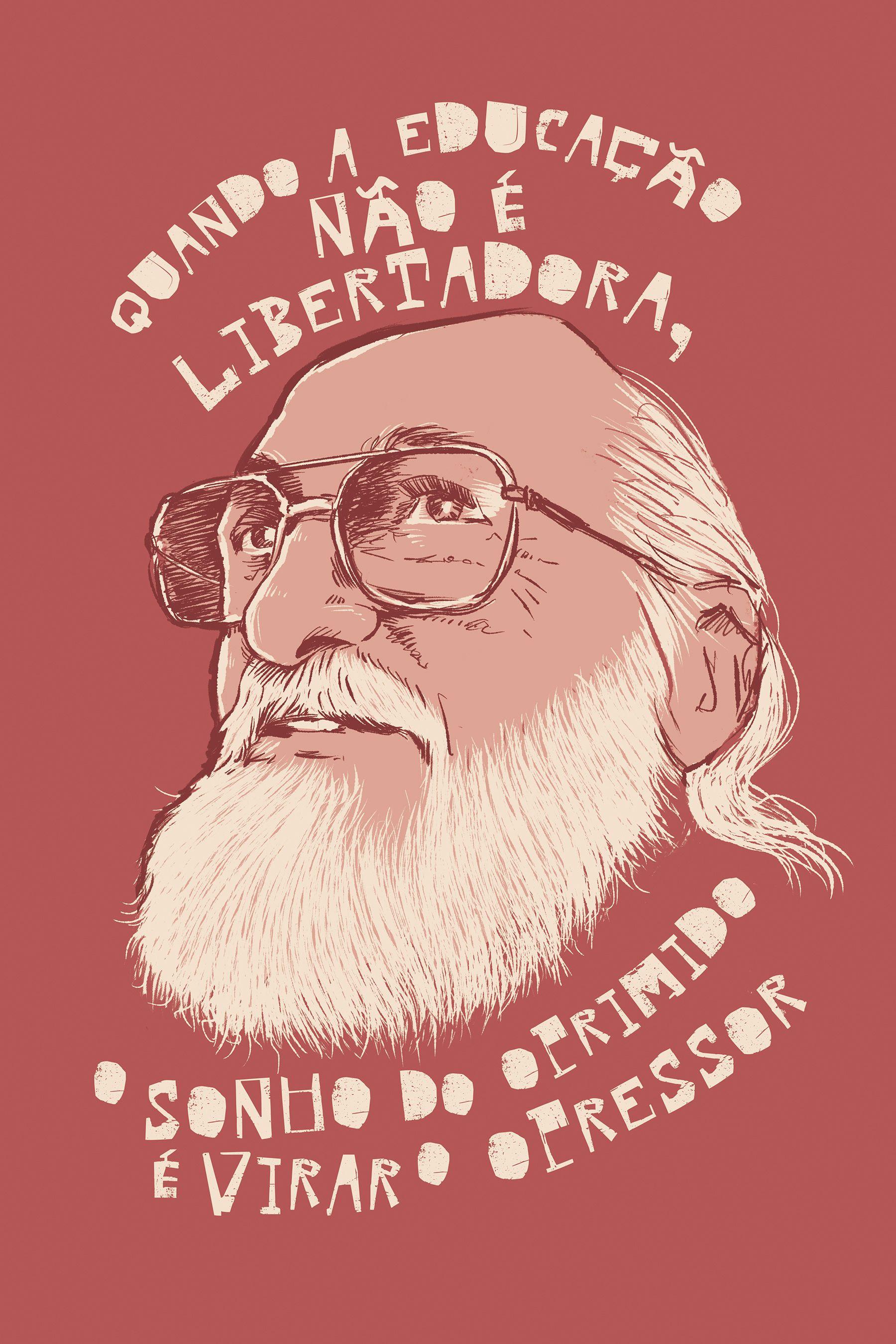 Camiseta Paulo Freire Chico Rei Em 2020 Com Imagens Arte De