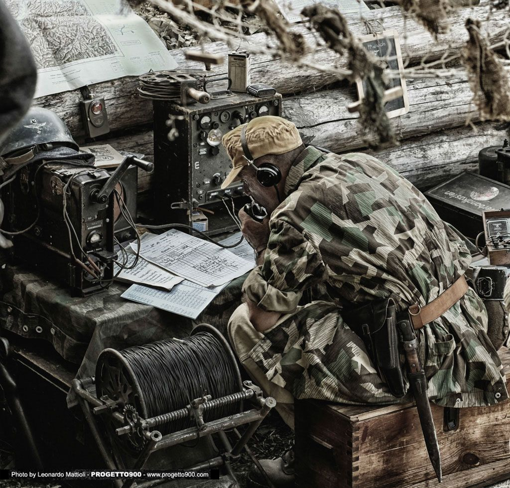 Image result for ww2 german soldier with radio