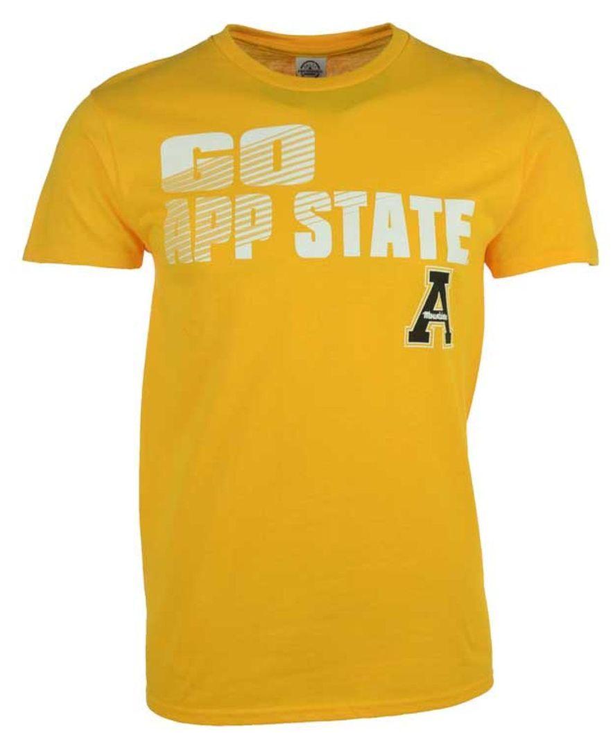 J America Men's Appalachian State Mountaineers Slogan Stack T-Shirt