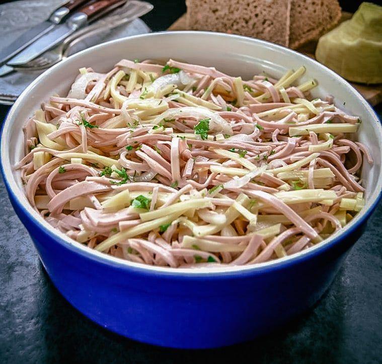 Photo of Salade de saucisse souabe au fromage