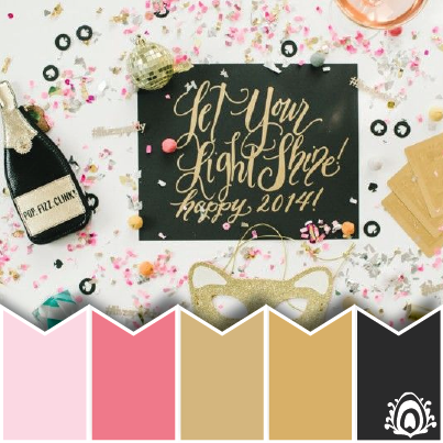 NEW YEAR WISHES COLOR PALETTE Pastel Feather Studio   BRANDING     NEW YEAR WISHES COLOR PALETTE Pastel Feather Studio