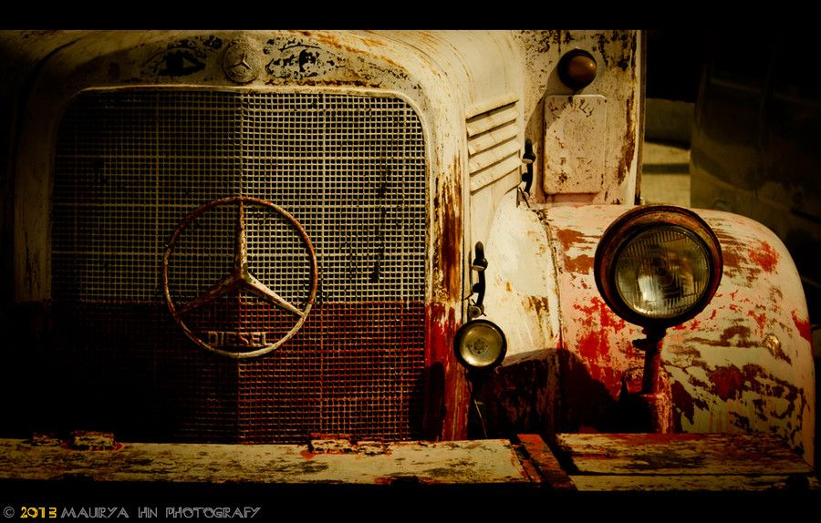 A Fading Star By Maurya Hn On 500px With Images Mercedes Truck