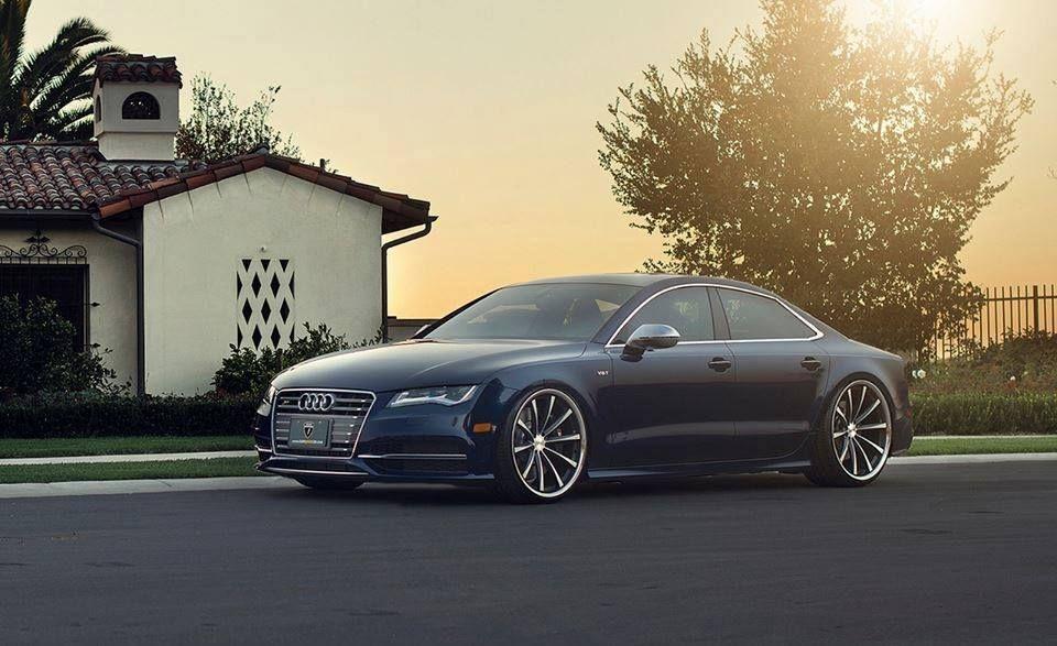 Attractive Audi A7 Vossen